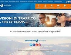 Autostrade: sul sito non sono disponibili previsioni del traffico. Nel weekend di Ferragosto
