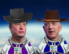 """Musk vs. Bezos: """"Bezos si è ritirato per perseguire un lavoro a tempo pieno presentando cause contro SpaceX"""""""
