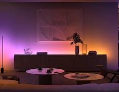 Philips Hue sposa il gradiente: annunciati tanti nuovi prodotti. Il Play Sync Box supporterà i 120 Hz
