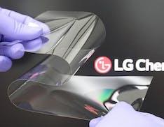 Il nuovo materiale realizzato da LG mira a risolvere il principale problema degli schermi pieghevoli