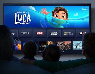 Da oggi Disney+ è disponibile sui TV Panasonic più recenti