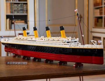 Ecco il Titanic, il più grande set di Lego mai creato