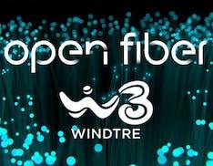 WindTre, accordo con Open Fiber: fibra ottica fino a 10 Gbps alle imprese e alle PA