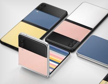 Samsung, ecco Z Flip3 Bespoke Edition. È personalizzabile, si possono scegliere 49 combinazioni di colore