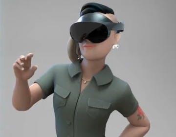 Questo potrebbe essere Oculus Quest Pro. Cambia totalmente il design, meno maschera, più occhiale