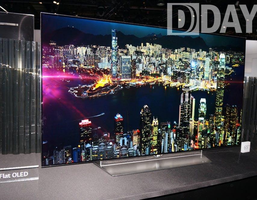 CES 2015: lo stand LG e le novità, dai TV OLED al G Flex 2