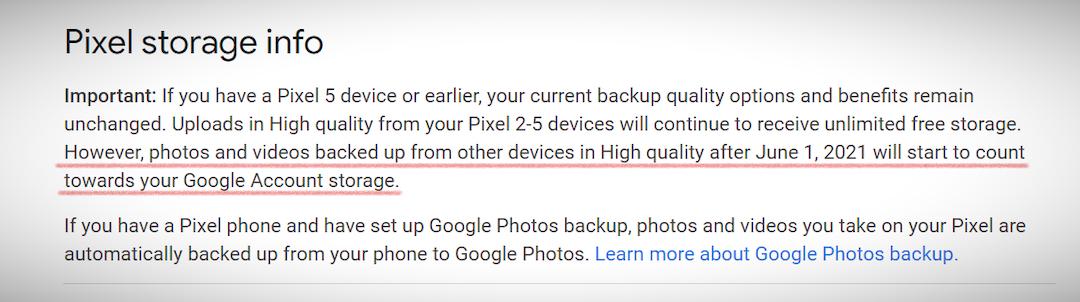 Google Foto dice abbastanza: niente più spazio di archiviazione gratuito per foto e video a partire dal 1 ° giugno 2021