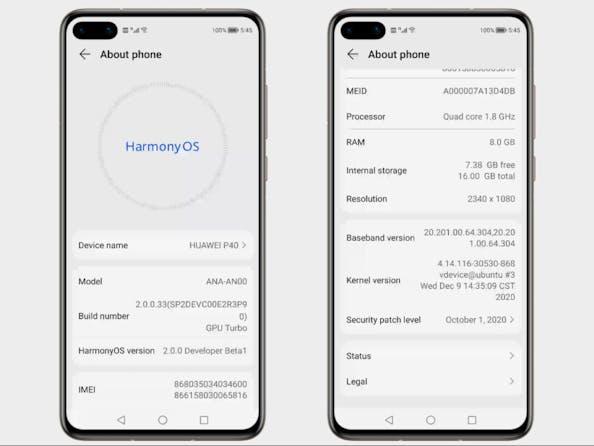 HarmonyOS per smartphone alla fine è Android con un nome diverso