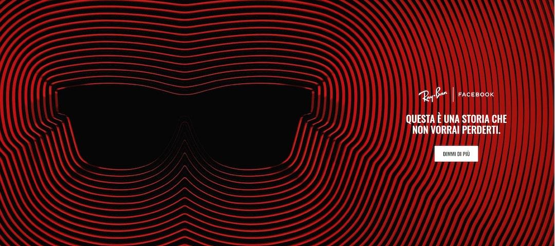 Ray-Ban occhiali smart
