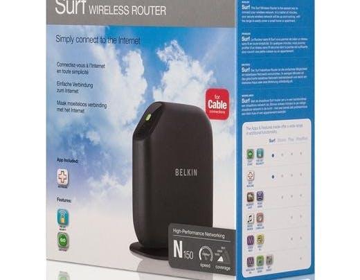 Belkin Surf Modem Router