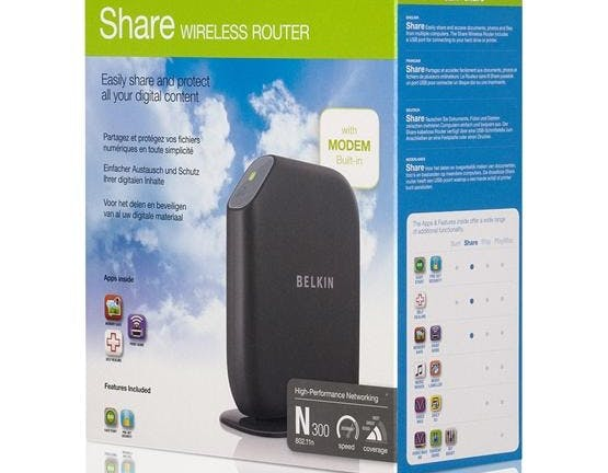 Belkin Share Modem Router