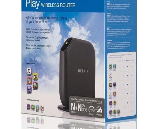 Belkin Play Modem Router
