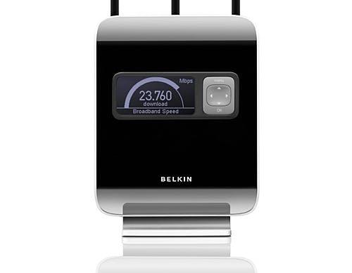Belkin Modem Router wireless N1 Vision