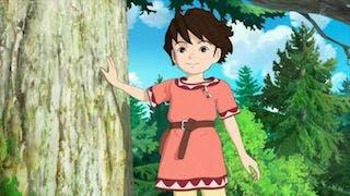 La grande animazione giapponese arriva su Amazon Video con Ronja
