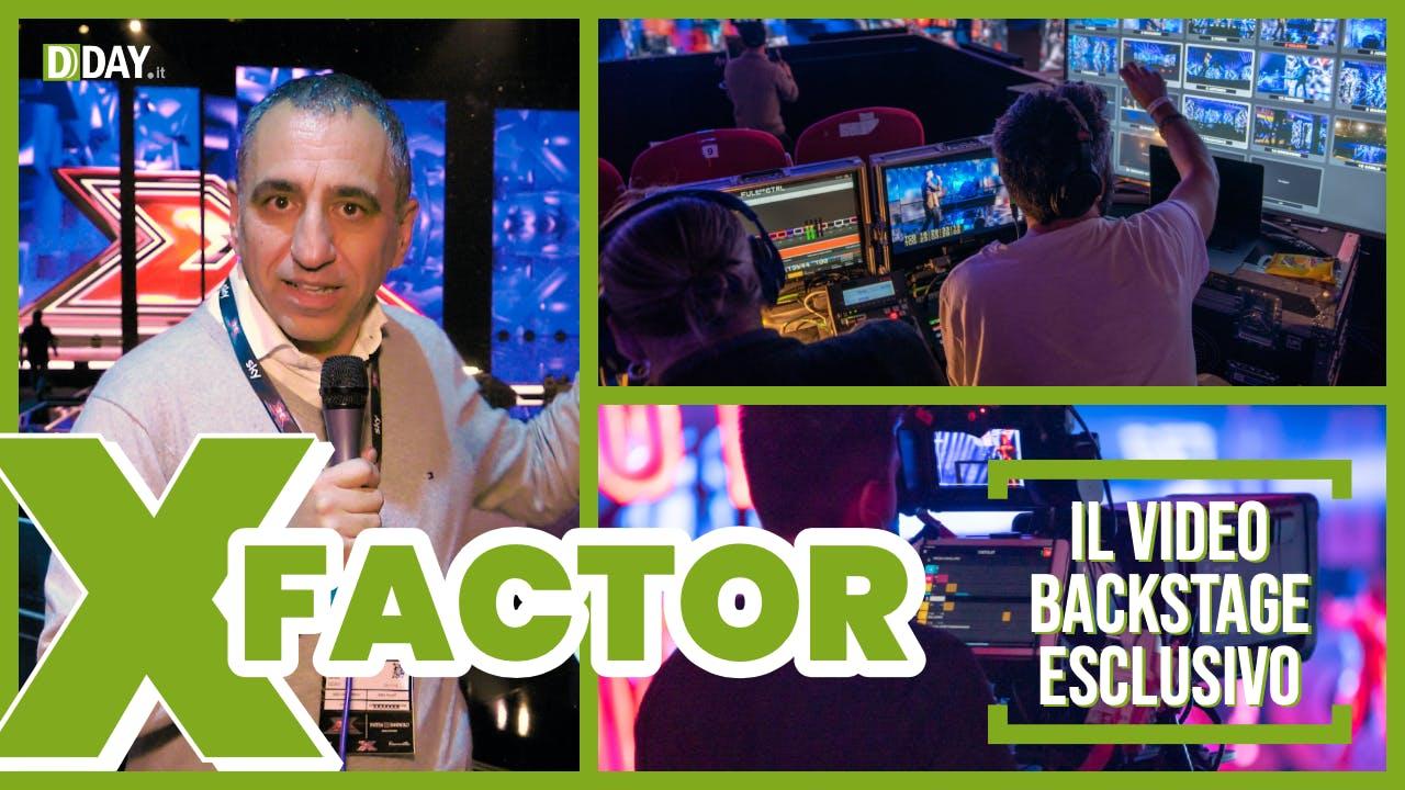 Il reportage esclusivo dal backstage di X Factor
